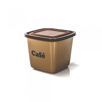 POTE MANTIMENTO QUADRADO AVULSO - CAFE - 2100 ML