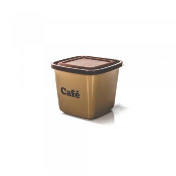 POTE MANTIMENTO QUADRADO AVULSO - CAFE - 1100 ML
